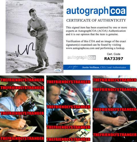 MATT DAMON signed Autographed 8X10 PHOTO d PROOF - SEXY Ford v Ferrari ACOA COA