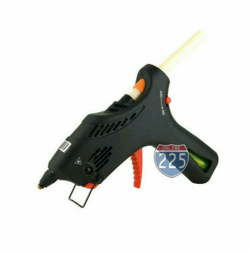 Cordless Butane Gas Glue Gun with Automatic Temperature Control & 2 Glue Sticks