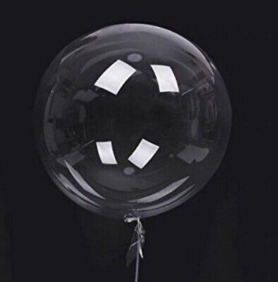 Riesen XXL Luftballon glas-klar durchsichtig transparent befüllbar Ballon Deko - Luft Glas