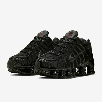 Nike Shox TL Mens Trainers in Black UK 6 - 8.5 **CLEARANCE** Brand New