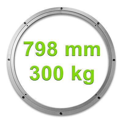 Drehkranz Ø 798mm 300kg Aluminium Drehlager Drehteller Drehscheibe Lenkkranz Alu