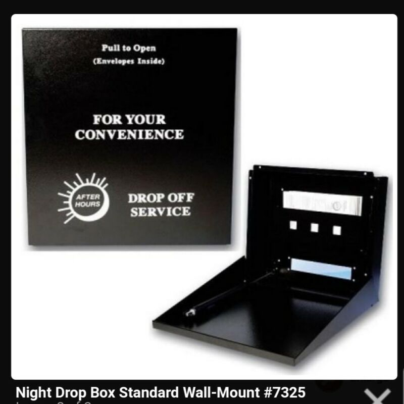 Night drop box