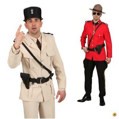 Uniform-Gürtel schwarz Polizist Schulterholster Polizei Kostüm - Polizei Gürtel Kostüm