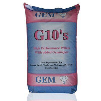 GEM G10 Pellets Pigeon Feed - High Performance Pigeon Food with Gemthepax 20kg