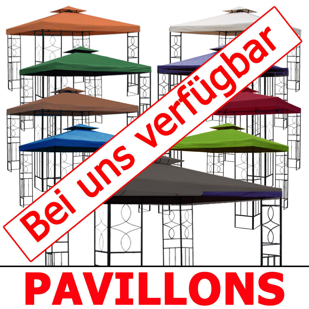 ersatzdach 270g dach wasserdicht pavillon m mit kaminabzug pavillondach eur 36 40. Black Bedroom Furniture Sets. Home Design Ideas