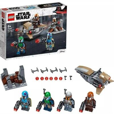 LEGO 75267 Star Wars Mandalorian Battle Pack Set with 4 Minifigures Speeder Bike