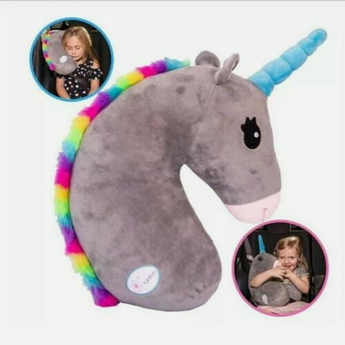 Kids Car Pillow Seat Belt Cover Seatbelt Plush Unicorn For Child Safety Belt - $39.99