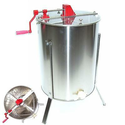 Stainless steel honey extractor 4 frames HONEY SPINNER bee - 4 honeycombs