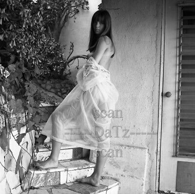 1960s Negative-nude brunette pinup girl Chris Thornton-cheesecake t978508