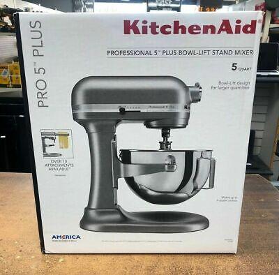 Brand New KitchenAid Professional 5 Plus Series 5 Quart Stand Mixer Silver (Kitchenaid Professional 5 Plus Silver Series Stand Mixer)