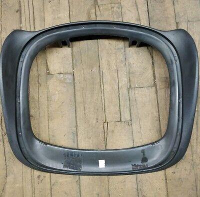 Herman Miller Aeron Chair Seat Pan Size B Damaged Cracked Graphite Color 5
