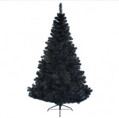 Albero di Natale Nero 180 cm