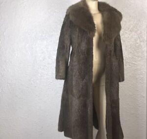 Revillon Saks Fifth Avenue Women's Long FUR COAT Jacket! Beautiful!
