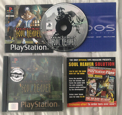 Legacy Of Kain Soul Reaver Playstation 1 PS1 Complete Excellent