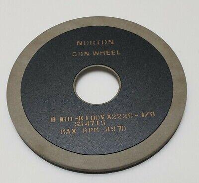 Norton 5 Cbn Grinding Wheel 1 14 Arbor Max Rpm 4970