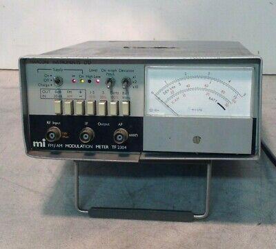 Marconi Fmam Modulation Meter Tf 2304