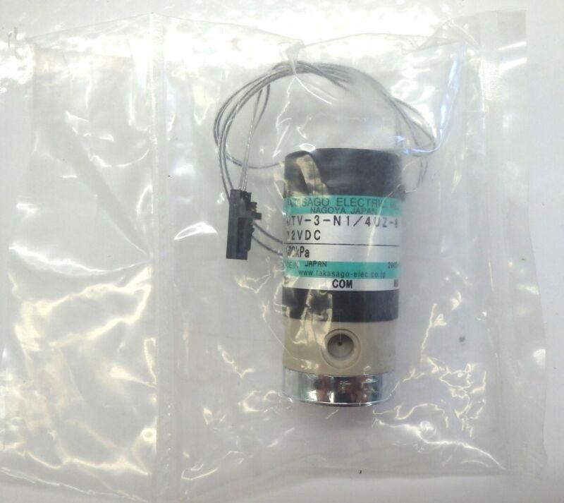 Takasago MTV-3-N1 / 4UZ-8 3-Way Diaphragm Valve 200kPa