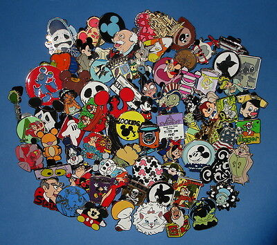 Disney Trading Pins LOT OF 25 No Doubles USA SELLER Vinylmation Hidden Mickey on Rummage