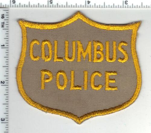 Columbus Police (Georgia) 1st Issue Shoulder Patch