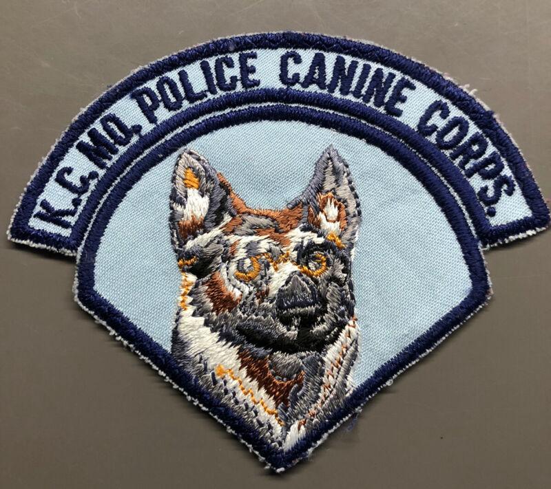 Kansas City Missouri Police Canine Corps Patch ~ KC MO K9