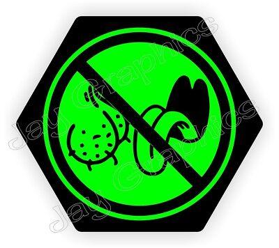 Funny No Bag Lickers Hard Hat Sticker Hexagon Welding Helmet Biker Decal Label