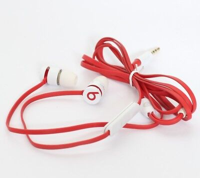 Beats by Dr. Dre UrBeats In Ear Headphones iPhone iPod Apple RED/WHT SR#P25