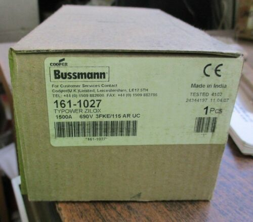 INDUCTOTHERM #161-1027 FUSE
