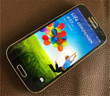 Samsung galaxy s4 4g mobile phone unlock VGC