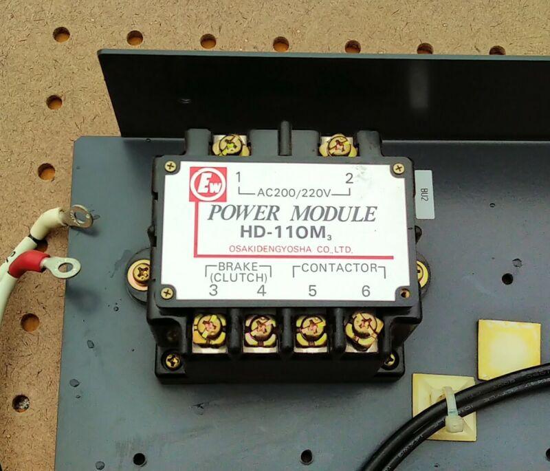 OSAKIDENGYOSHA HD-100M POWER MODULE AC 200/220V