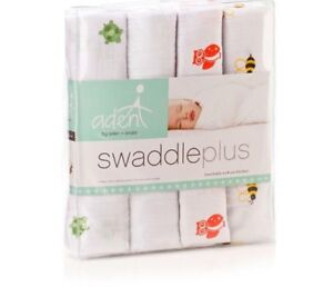 Aden and Anais Swaddle Blankets /4 pack