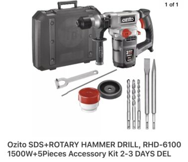 Ozito hammer drill 850w