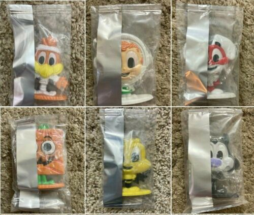 6x LOT Cereal Squad Halloween Monster Figures General Mills Series 2 Regular NEW