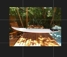 """6'4"""" custom-shaped surfboard by Woody Jack, Angourie NSW Coogee Eastern Suburbs Preview"""