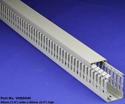 20 Sets - 1.5x2x2m Gray High Density Premium Wiring Ducts And Covers - Ulcsa