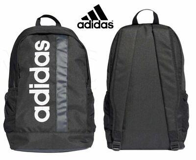 Adidas Backpack Linear Training Gym School Backpacks Sports Bags Black