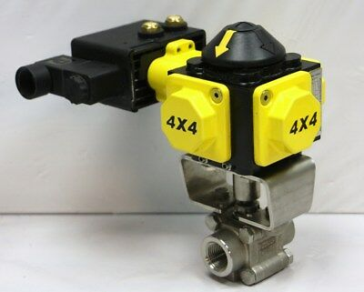 Sharpe X40 Ds Sonic Torque 4x4 Electro Pneumatic Actuator W 12 Valve 335