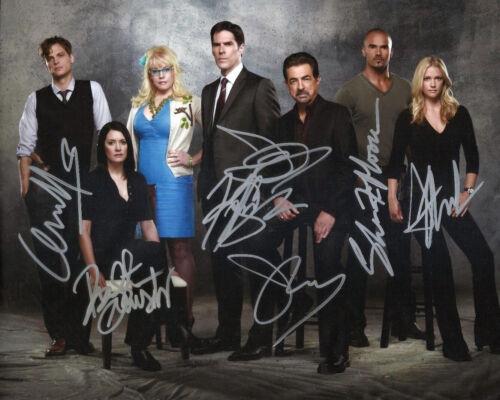 Criminal Minds Cast Signed 8x10 Autoraphed Photo reprint