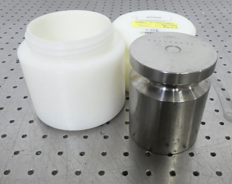 R177879 ACME Scale Co Class F 5kg Calibration Test Weight