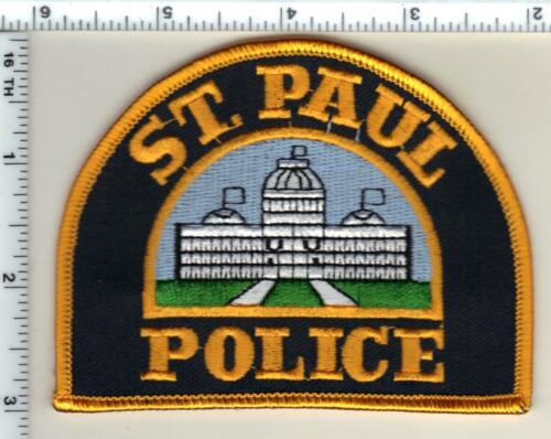 St. Paul Police (Minnesota)  Shoulder Patch  - new from 1991