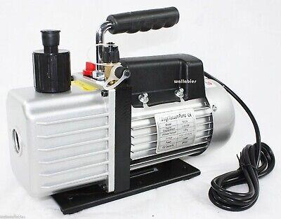 13hp 3.5cfm 110v Rotary Vane Deep Vacuum Pump Hvac Tool Ac R410a R134 R22