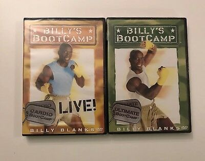2 Billy Blanks Billys Boot Camp DVD