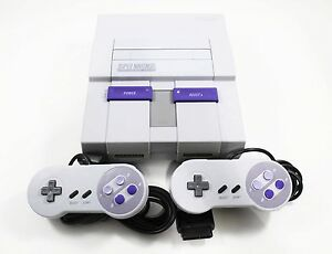 Looking for a Super Nintendo