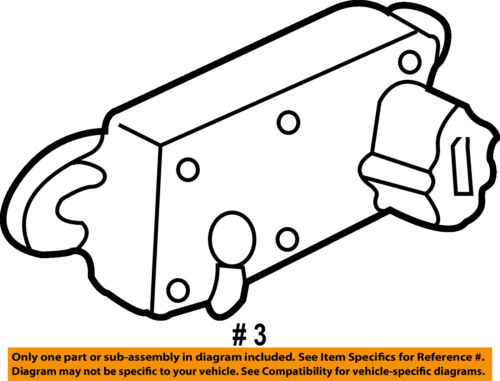 FORD OEM-Egr Valve Position Sensor 4W1Z9J460AA | eBayeBay
