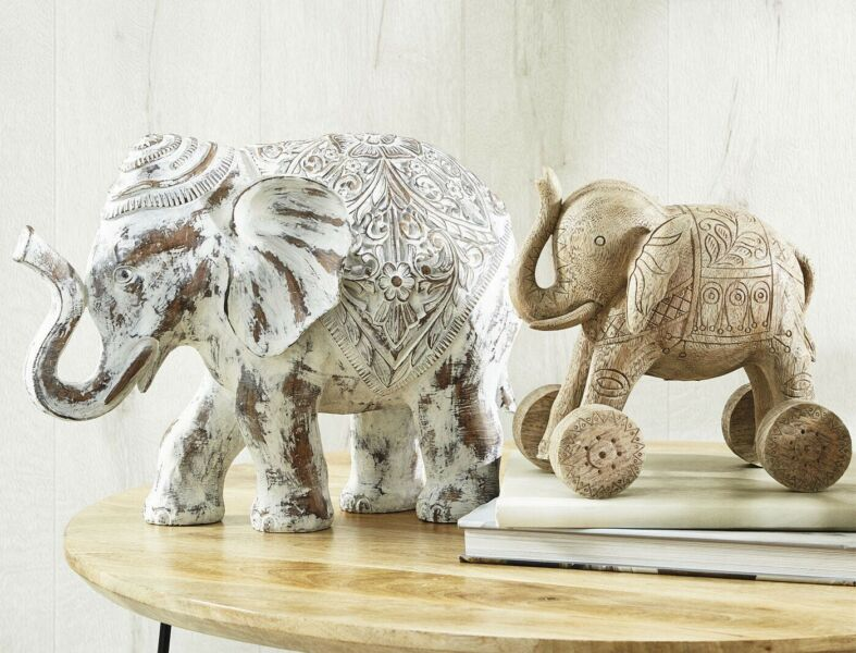 Brand New Morgan Finch Carved Deco Elephant Home Decor Decorative Accessories Gumtree Australia Hobsons Bay Area Altona Meadows 1246748336
