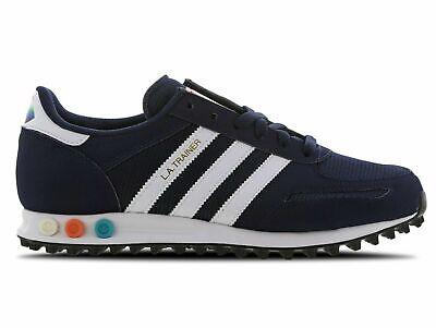Adidas Originals LA trainer Mens Navy EG4529 Rare US-9.5 Los Angeles Trainers