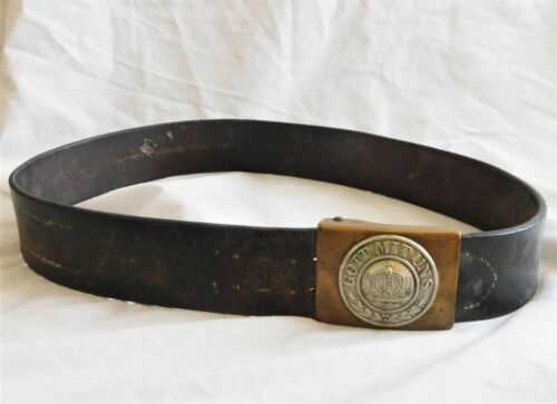 WW I M1895 Prussian Belt IMPERIAL GERMANY NCO Enlisted Man BELT BUCKLE