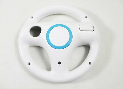 Nintendo Wii Original Racing Wheel Attachment (White) - Great For Racing Games