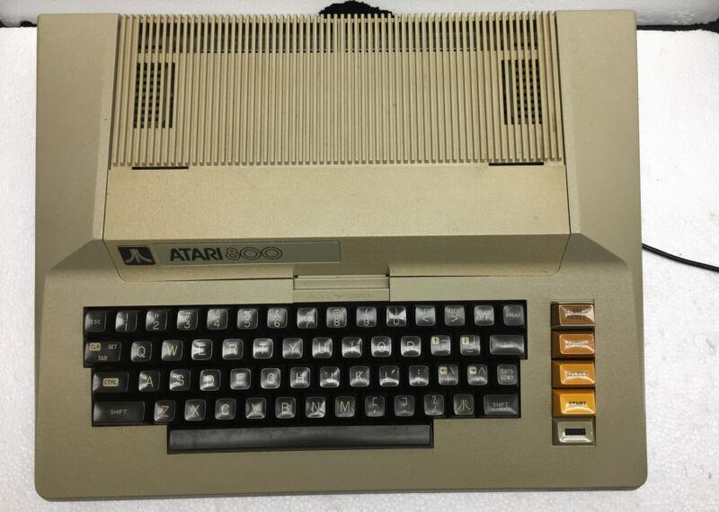 Vintage Atari 800 Computer Deck Only, Working 100%