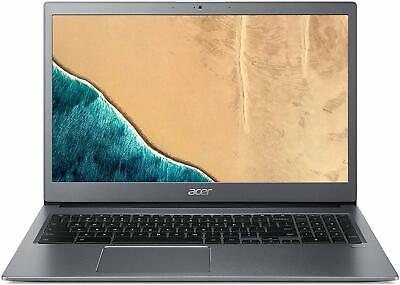"Acer Chromebook 715 15.6"" Intel i3-8130U 2.2GHz 4GB Ram 128GB Flash Chrome OS"