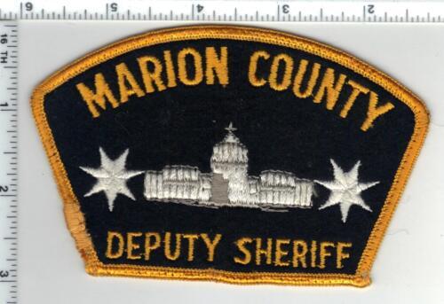 Marion County Deputy Sheriff (Oregon) Uniform TakeOff Shoulder Patch Early 1980s